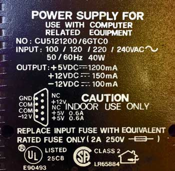 DP5_Power Supply Voltages