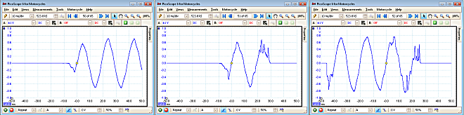 waveform buffer - Picoscope software