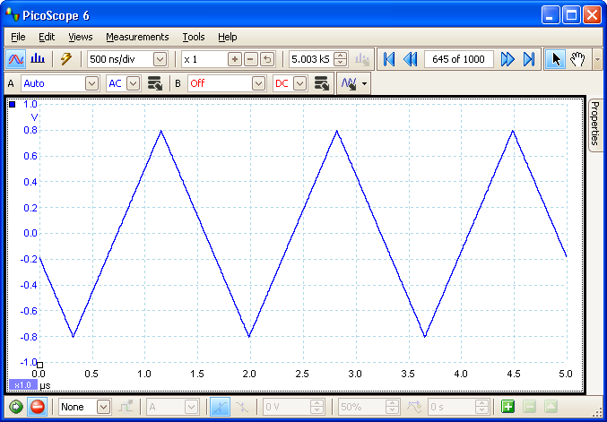 waveform buffer